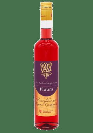 Pluum Pflaumen-Likör Front Wöltingerode